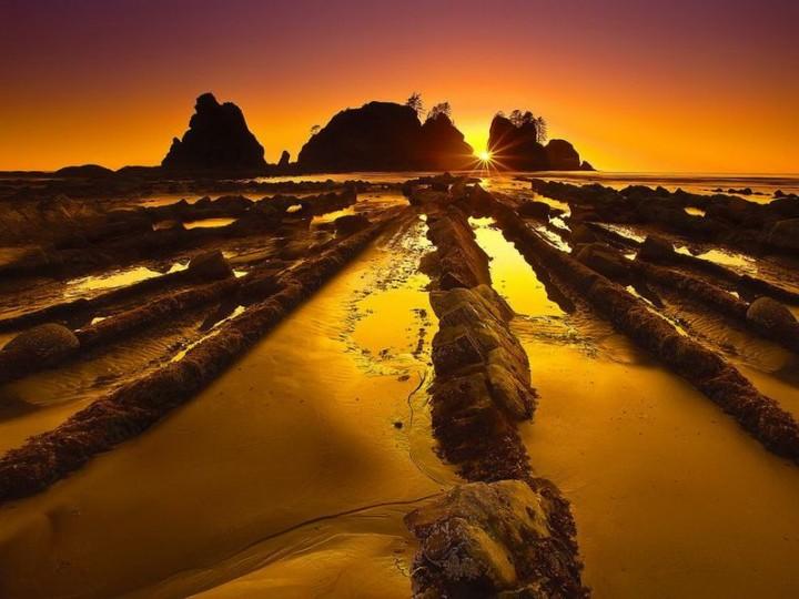 turbidites17 Турбидиты   необычные образования на побережье Испании