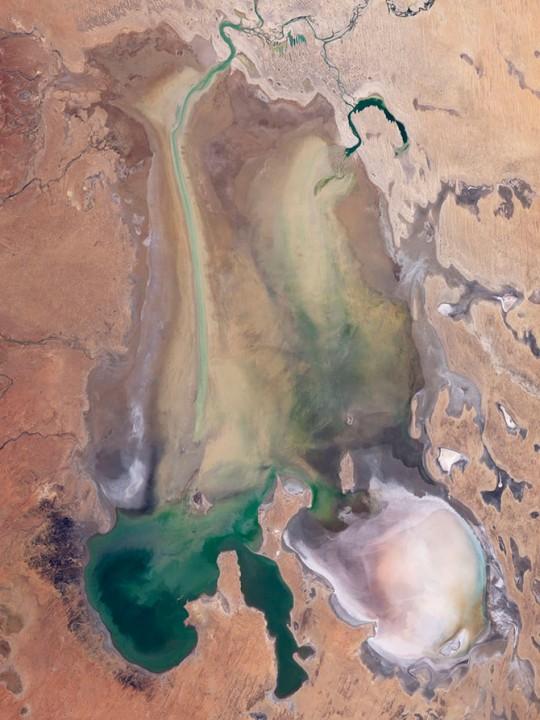 Волшебство спутниковых снимков Земли