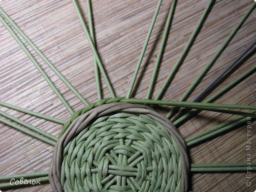 Мастер-класс Плетение МК - Шкатулка из бумаги Бумага газетная Трубочки бумажные фото 19