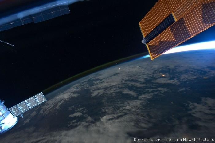 Фотографии Земли с МКС от астронавта Рона Гарана