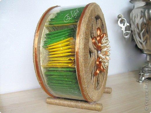 Чайное колесо своими руками