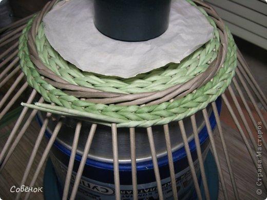 Мастер-класс Плетение МК - Шкатулка из бумаги Бумага газетная Трубочки бумажные фото 61