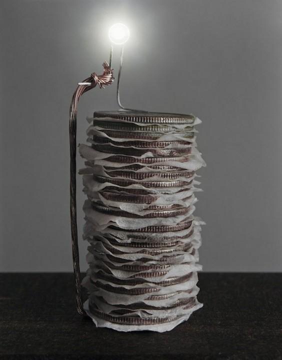 Электричество из повседневных продуктов
