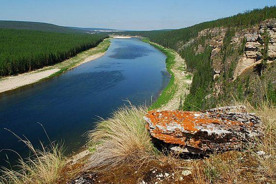 Река амга фото