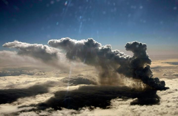 1145 Извержение вулкана в Исландии
